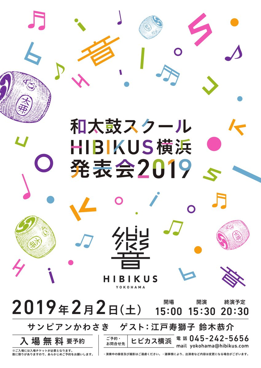 和太鼓スクール HIBIKUS横浜発表会 2019