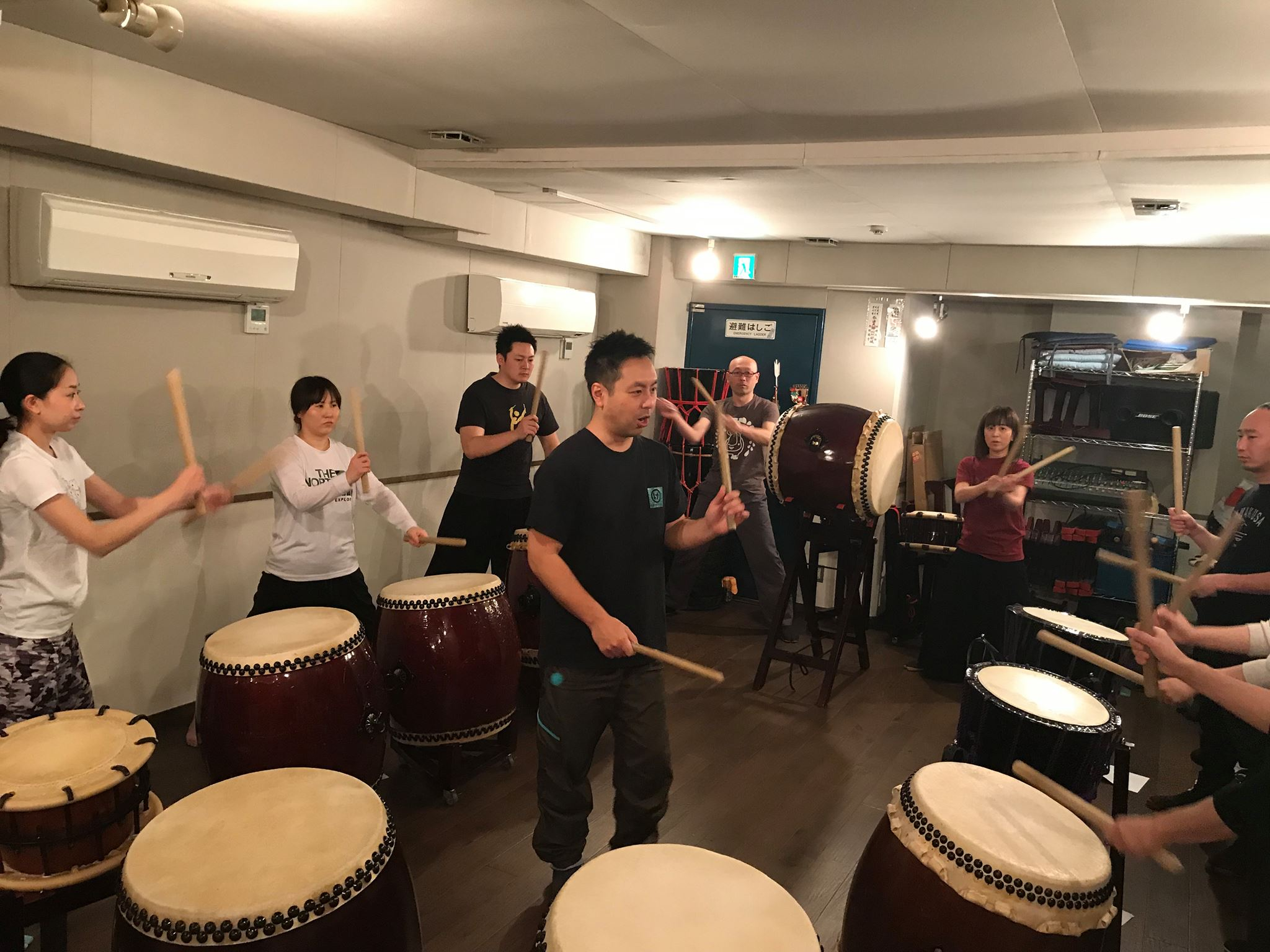 Let's Try Taiko! Workshop & Lunch 初心者向け和太鼓体験会 + ランチ会