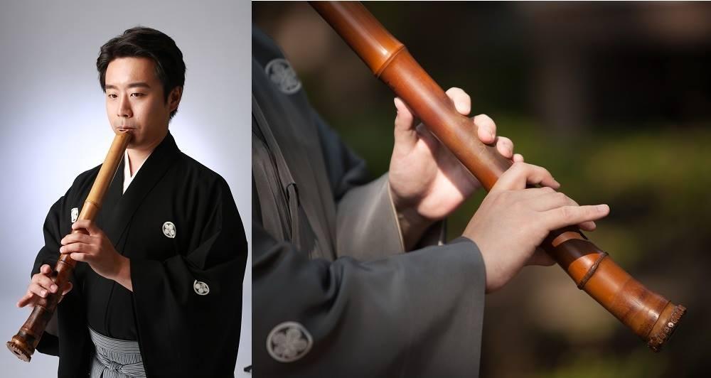 和gaku庵5月 竹の音色「尺八」